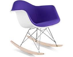 designer love upholstered rocking chair