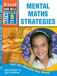 excel basic skills mental maths strategies year 5 pascal