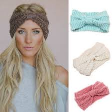 winter headbands fashion knitted headbands women crochet headband wrap wide ear