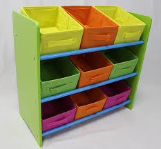 Kids Room Storage Bins by Amazon Com Ehemco 3 Tier Storage Unit With 9 Removable Fabric