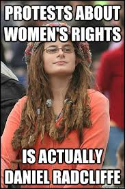 Womens Rights Memes - image 265325 college liberal know your meme