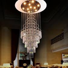 New Chandelier 2017 New Luxury Staircase Chandelier Deco