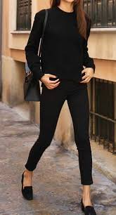 all black casual casual fashion style ideas 2017 styles 2017