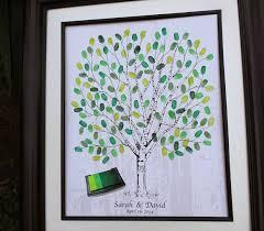 Wedding Tree The 25 Best Fingerprint Guest Books Ideas On Pinterest