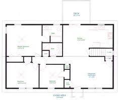 simple house plan interior design