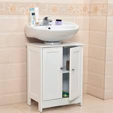 Bathroom Storage Cupboard Undersink Bathroom Cabinet Cupboard Vanity Unit Sink Basin