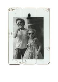 fetco home décor white slats 5x7 clip frame belk