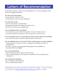 letter of recommendation employment gallery letter samples format