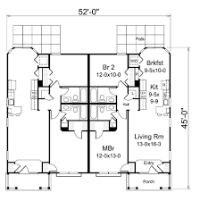 Multi Unit Apartment Floor Plans 76 Best Multi Unit Plans Images On Pinterest Duplex Plans