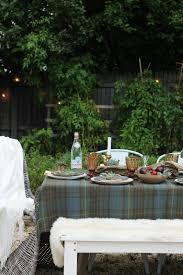 Driftwood Outdoor Furniture by Outdoor Fall Tablescape Using Driftwood Herbs Succulents City