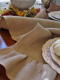 make your own table runner make your own ruffled burlap table runner hometalk