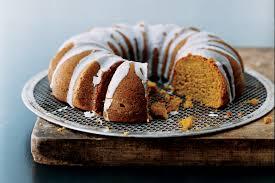 pumpkin spice bundt cake with buttermilk icing recipe epicurious com