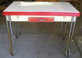 Vintage Metal Kitchen Tables And Chairs FD S Enamel - Vintage metal kitchen table