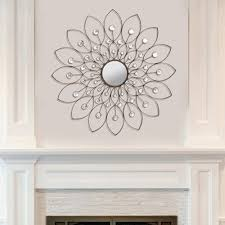 Flower Home Decor by Home Decor Decorative Flower Wall Mirror