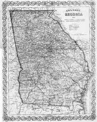 Map Of Tennessee And Georgia by Hargrett Library Rare Map Collection Frontier To New South