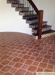 spanish floor mexican tile spanish mission red terracotta floor tile arabesque