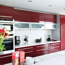 Colour Designs For Kitchens Best 25 Red Kitchen Cabinets Ideas On Pinterest Red Cabinets