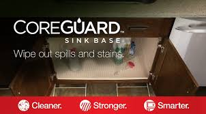 sink kitchen cabinet mat coreguard sink base merillat
