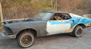 mustang project cars for sale 1969 ford mustang mach 1 rolling project 9141 sold benzamotors