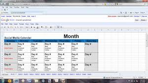 social media planner template virtren com