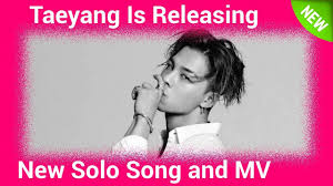 lexus lc taeyang taeyang is releasing new solo song and mv youtube