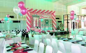 60th birthday party decorations 1950s 60s cebu balloons and party supplies