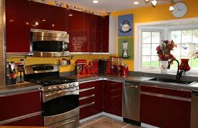 yellow and brown kitchen ideas kitchen beautiful coool and black kitchen design ideas