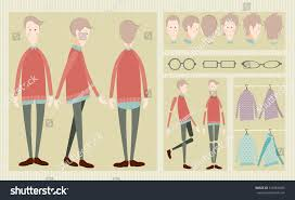 character animation set stock vector 516966583 shutterstock