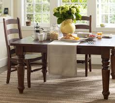 pottery barn shayne table craigslist sumner square fixed dining table pottery barn love this looks a
