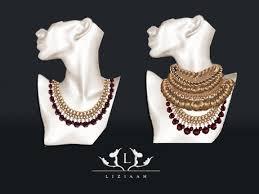 stackable necklaces second marketplace liz mesh bohemian stackable necklaces