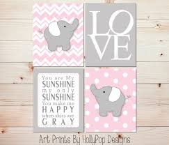Pink Elephant Nursery Decor Nursery Beddings Baby Bedding Plus Baby