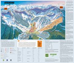 Stevens Campus Map Stevens Pass Washington Ski Resort Trail U0026 Ski Map