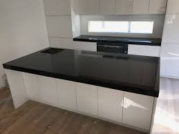 absolute black granite kitchen benchtop granite marella