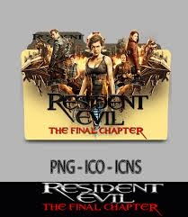 resident evil the final chapter 2017 wallpapers resident evil the final chapter 2017 folder icon by mrjoker610