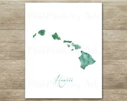 hawaii art print hawaii wall decor hawaii printable