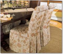slipcovered parsons chairs baroque parson chairs in dining room mediterranean with