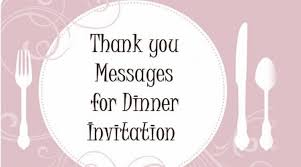 dinner invitation invitation msg for dinner dinner invitation template