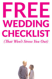 wedding checklist wedding checklist complete lower stress a practical wedding a