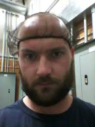 hair net wear a hair net they tell me don t worry about the beard