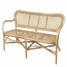 White Wicker Patio Furniture - furniture enhance your home with a tasteful rattan bench