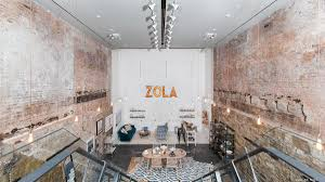 zola opens swanky u0027townhouse u0027 in soho as retail experiment new