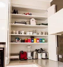 appliance pantry bi fold doors www thekitchendesigncentre com au