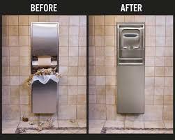 Commercial Bathroom Paper Towel Dispenser Stainless Steel Paper - Paper towel dispenser for home bathroom