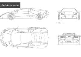 car lamborghini drawing lamborghini aventador cad block free download