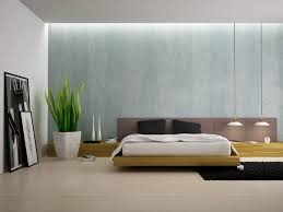 contemporary wallpaper bedroom minimalistic wall design beds interior bedroom 3d