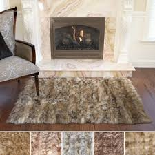 Bare Skin Rug Faux Fur Rugs U0026 Area Rugs For Less Overstock Com