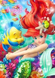 disney princess images mermaid ariel hd wallpaper