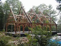 building an a frame cabin build your own timber frame guide to building a timber frame home