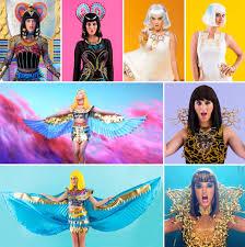 Katy Perry Costume Diy All Of Katy Perry U0027s U201cdark Horse U201d Video Costumes For Halloween