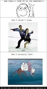 Figure Skating Memes - ice skating meme guy